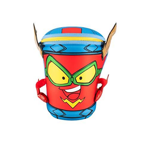 Cife Mochila Personaje SUPERZINGS Kid Fury-Serie 5-Material Duro y Resistente-Guarda Todo lo Necesario y llévala contigo a Cualquier Parte, Colores (42056)