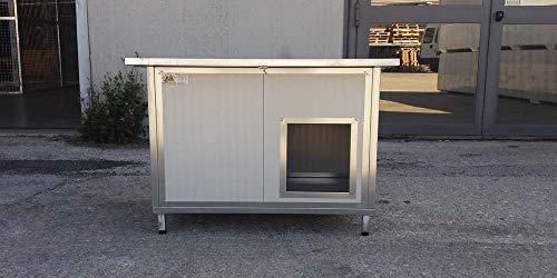 VERBOX Cuccia Coibentata per Cani da Esterno Primo Prezzo (80x60x60H)