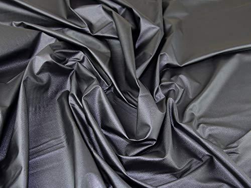 Lady McElroy Techno Tissu brillant pour costume Gris anthracite – au mètre