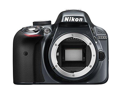 Nikon D3300 - Cámara réflex de 24.2 MP (Pantalla LCD de 3