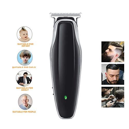 Men's Hair Clipper, Multi-Functie 3 Snijkop Tondeuse Scheerapparaat Baardtrimmer, Kaal Hoofd Clipper Draadloze Tondeuse, Opladen Via USB