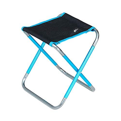 xiaokeai Silla Plegable Silla Plegable portátil al Aire Libre Taburete de Pesca Ultra Ligero Silla Especial for Acampar Fácil de Cargar (Color : C)
