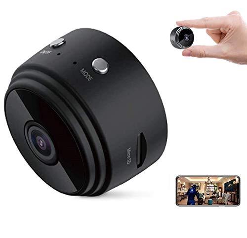 Mini Camara Espia Oculta WiFi Video Cámara, Tecnoxer 1080P HD Cámara Portátil Interior/Camaras de Seguridad Pequeña