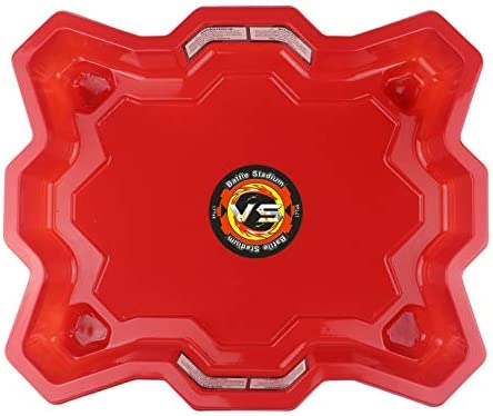 17Tek Bey Stadium Battle Arena Training Ground Super Vortex Attack Type for Beyblade Burst (Orange)