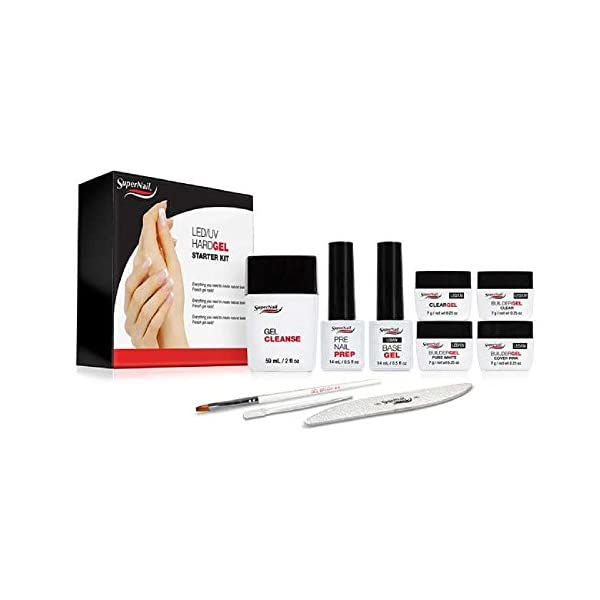 Beauty Shopping Supernail LED/UV Hard Gels Starter Kit