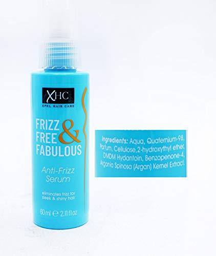 XPEL Frizz Free & Fabulous Anti-Frizz Serum Pump