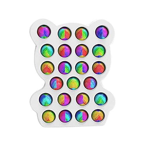 LKJsagd Alivie el estrés, Juguete sensorial Pop Bubble Fidget