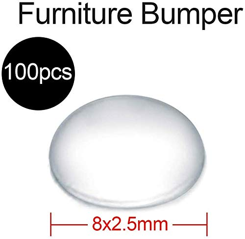 TOPINCN 100 Stks Zelfklevende Rubber Meubilair Bumper Pads Voor Deuren Kasten Laden Meubilair Glazen Tafels Ambachten