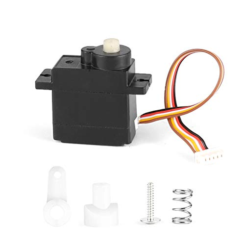 RC Car Spare Parts Servo and Servo Saver Assembly Apply for 2020 New Version 18858 & 18859 M1830
