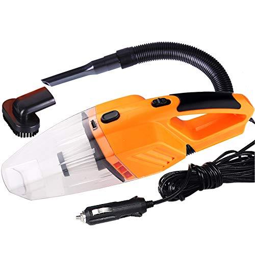 KKmoon Kit d'accessoires Parfaits pour Aspirateur de Voiture Portable 120W Domestique pour Détailler et Nettoyer l'intérieur de la Voiture