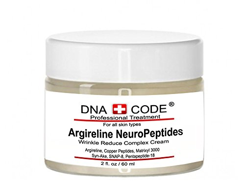DNA Code-No Needle Alternative-Argireline NeuroPeptides Wrinkle Reduce Cream w/Matrixyl 3000, Syn-Ake, SNAP-8, Copper Peptides