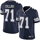 alaxdsd Cōw-bǒ.ys Sudadera de Manga Corta de Jersey NFL para Hombre Camiseta Transpirable Ropa para fanáticos Camiseta La'el Collins#71 Ocio/blackB/XXL
