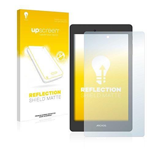 upscreen Entspiegelungs-Schutzfolie kompatibel mit Archos Oxygen 70 – Anti-Reflex Bildschirmschutz-Folie Matt