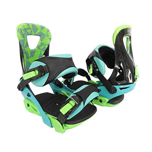 LP-LLL Zapatos de esquí Ajustables para Exteriores - Senderismo Raquetas de Nieve Zapatos de Nieve Patines de esquí para Hombres y Mujeres, Mini Patines de esquí Equipo de esquí (Verde Negro)