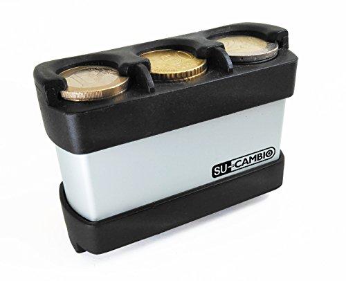 SU-CAMBIO Portamonedas Euro metálico Mini