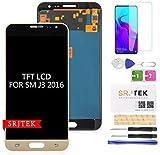 SRJTEK pour Samsung Galaxy J3 J320 écran LCD,pour J3 2016 J320 J320A J320M/DS J320H/DS TFT LCD...