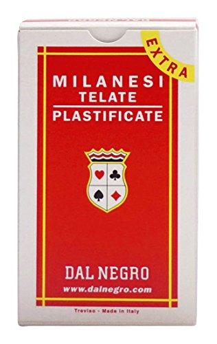 Dal Negro Carte da Gioco Milanesi 41 Extra Merchandising Ufficiale