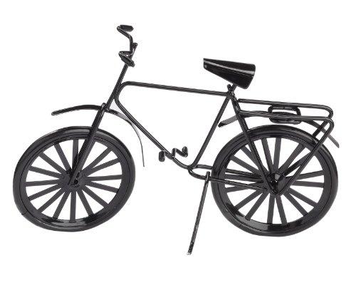 Fahrrad schwarz, ca.14 x 10 cm