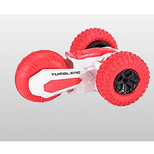 DONGKUI Mini Vehículo De Control Remoto Buggy De Acrobacias De Doble Cara Coche RC Giratorio De 360 ° Coches De Juguete Eléctricos para Niños De 2.4Ghz Sorpresa De Navidad para Niños