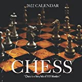 Chess Calendar 2022: Calendar 2022 with 6 Months of 2021 Bonus