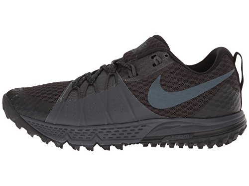 Nike Women's Air Zoom Wildhorse 4 Running Shoe Black/Anthracite-Anthracite 6.5