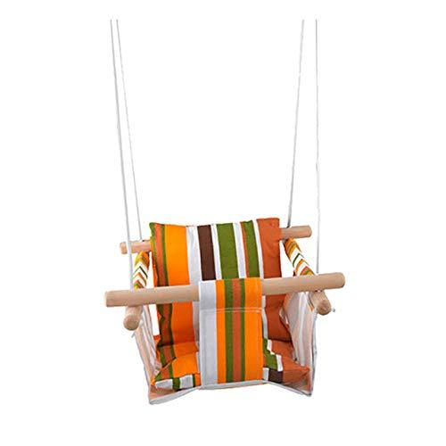 JTYX Hamaca Colgante de Estilo nórdico, Cuerda Colgante, Silla Colgante de Interior al Aire Libre, Asiento de jardín para Dormitorio para Adultos