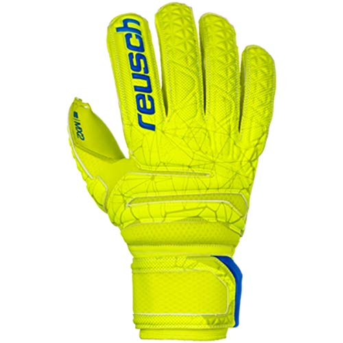 Reusch Fit Control MX2 Finger Support Torwarthandschuh, Lime/Safety Yellow/Lime, 10