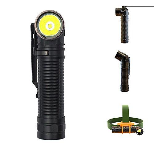 Global Rofis R3 XM-L2 U3 1250LM Magnetischer Ladekopf mit verstellbarem Winkel LED Taschenlampe Scheinwerfer