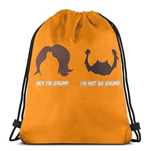 Gioco Grumps Jon e Arin Hair Sport Sackpack coulisse Zaino palestra Bag Sack