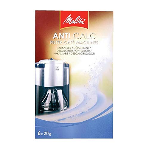 Melitta AntiCalc FilterCafe Machines 6x20g