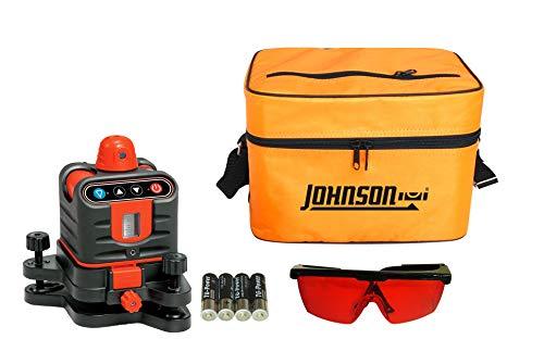 Johnson Level & Tool 40-6502 Rotary Laser Level,, Large