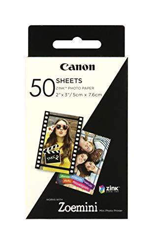 Canon Zoemini ZINK Fotopapier, 50 Blatt