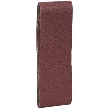 Bosch Professional 2608606060 Bosch Bande abrasives pour bois K40 3 pi/èces Gris 75x508mm