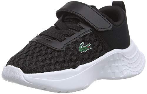 Lacoste Jungen Unisex Kinder Court-Drive 0120 1 Sui Sneaker, Schwarz Blk Wht, 27 EU