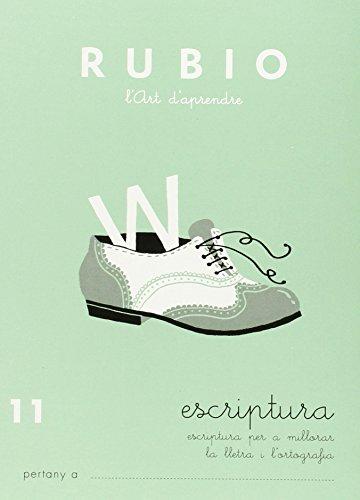 Rubio E-11 CAT - Cuaderno escritura (Escriptura RUBIO (català))