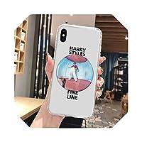 ハリースタイルケースFor iPhone12ProケースシリコンファンダスオンFor iPhone11ProマックスXR7 8 X XsS 2020 66sプラスミニカバー-O194-For iPhone XR