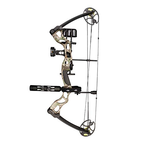 Southland Archery Supply SAS Outrage 70 Lbs 30'' Compound Bow Package (Camo Pro Package)