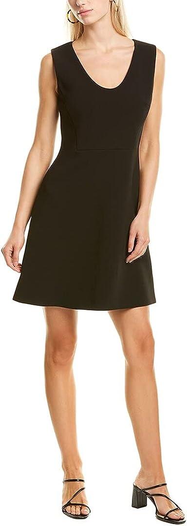 Theory Women's Scoop Flounce Dress