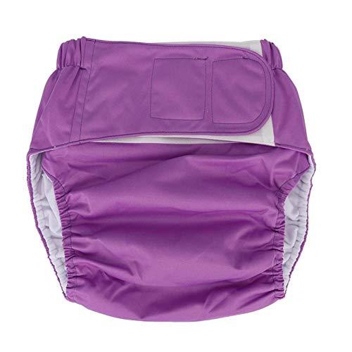 Pañal de bolsillo para adultos, pañal de tela reutilizable