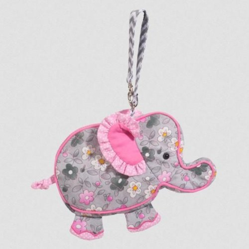 Douglas Daisy Elephant Sillo-ette Wristlet Purse