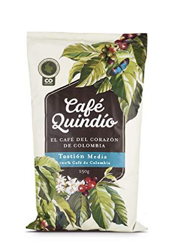 """Café Quindío 100% Colombien Café Moulu Traditionnel """"Moyen Rôti"""", 500g"""