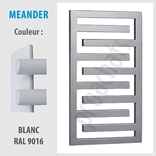 Radiador DE pared para cuarto DE baño MEANDER secado DE servilletas, diseño DE ME-1150 115 x 550 mm