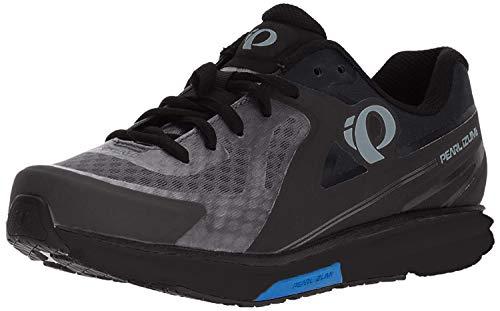 PEARL IZUMI Men's X-Road Fuel v5 Cycling Shoe, Black/Grey, 40
