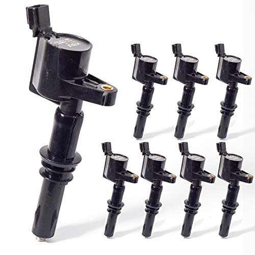 KSU Ignition Coil Pack Compatible With 2004-2008 Ford Expedition Explorer F-150...