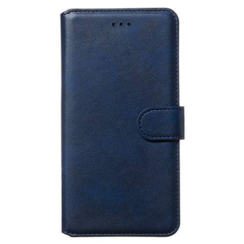 Tosim Galaxy Note 8 Hülle Klappbar Leder, Brieftasche Handyhülle Klapphülle mit Kartenhalter Stossfest Lederhülle für Samsung Galaxy Note8 - TOYYO080249 Blau