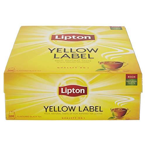 Lipton Yellow Label Finest Tea Blend - Quality No 1, 100 Beutel (150g)