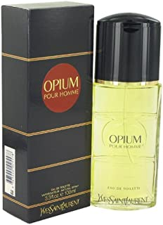 Yves Saint Laurent Opium Eau de Toilette Spray 3.3 Oz Colonia para hombres