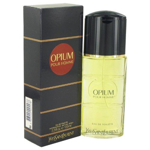 OPIUM by Yves Saint Laurent Eau De Toilette Spray 3.3 Oz - Cologne for Men