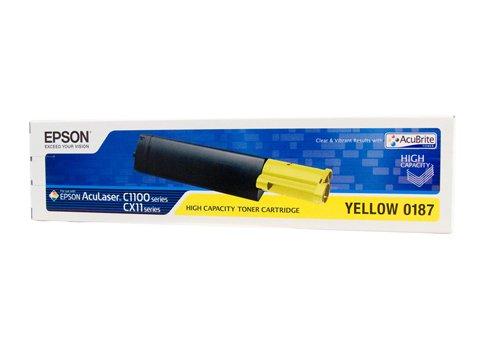 Epson al-c1100/CX11Toner Cartridge HC Yellow 4K–Laser Toner & Cartridges (Laser Cartridge, 4000Pages, Yellow, 1PC (S))