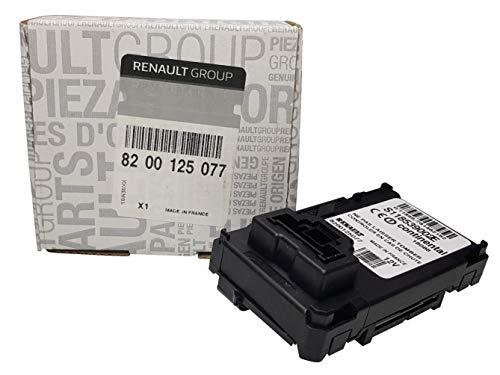 Renault 8200125077 - Lector de Tarjetas Original con Cerradura de Encendido para Renault Megane II